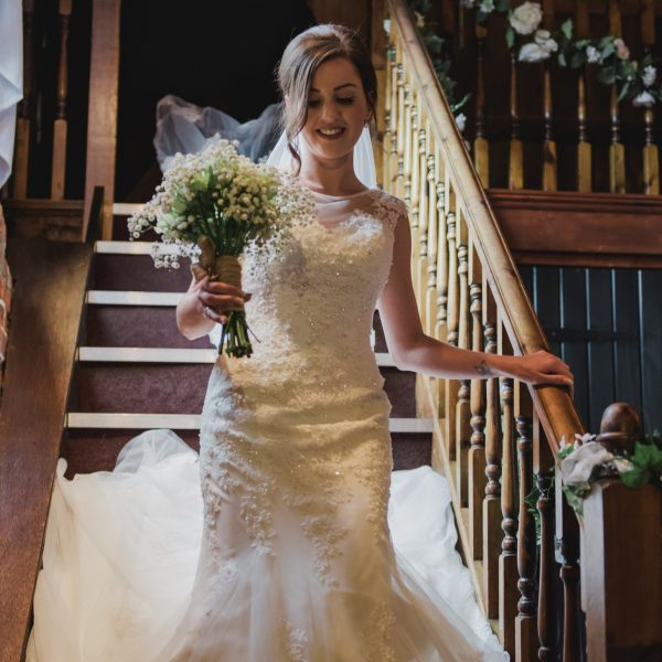 Cooling castle staircase bride Kent